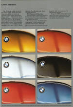 BMW 1978 Colour Chart