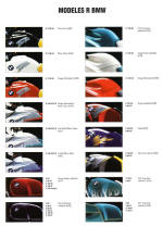 2002 BMW Colour Chart R Series Photo