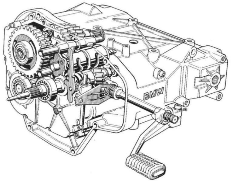 bmw k100 engine to r gearbox