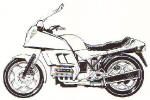 BMW K100RT Photo