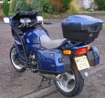 BMW K1100LT in Koenigs Blue