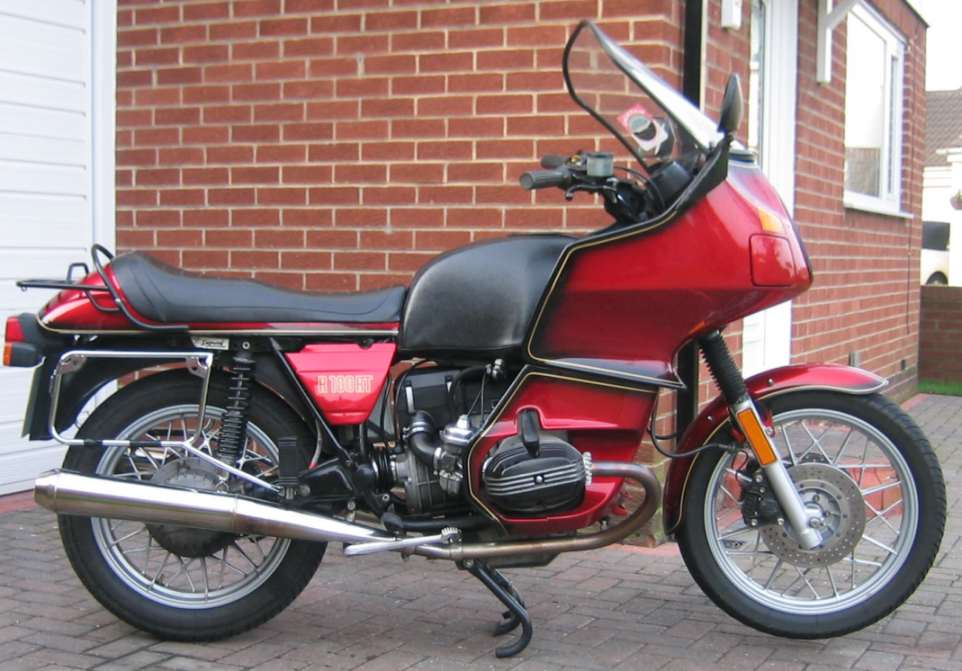 BMW R100RT Photos