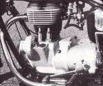 BMW R27 Engine Photo
