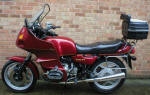 BMW R80RT Mystic Red Code 527