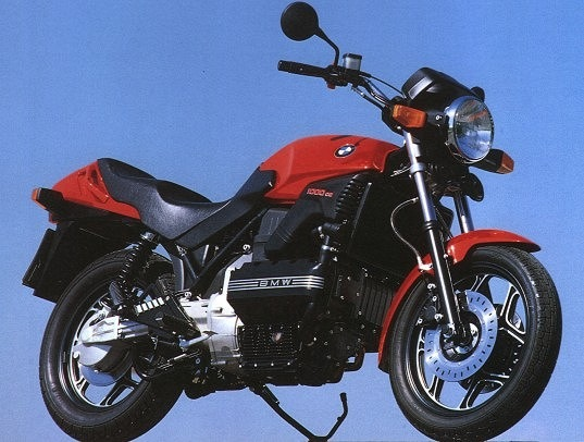 BMW K100/2 courtesy of Peter Kalmbaccher (found on the internet)