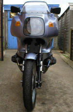 1977 BMW R100RS in Silver Blue Photo