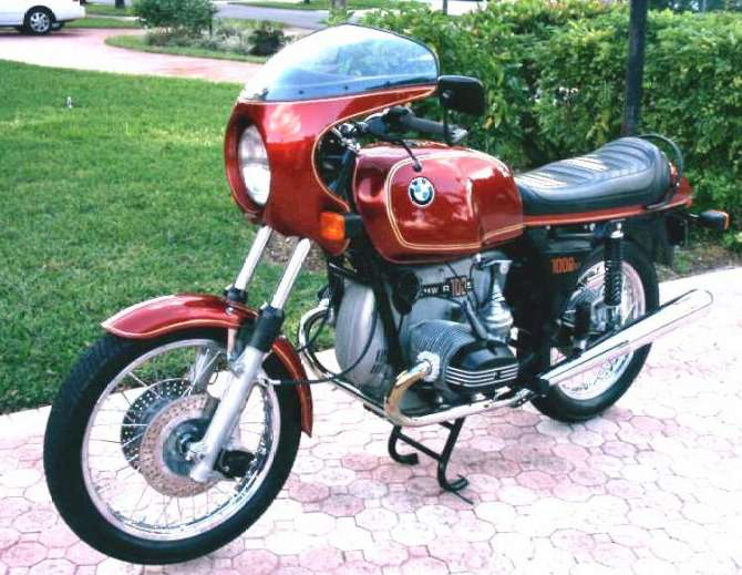 BMW R100S Colour Schemes