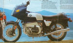 1979 BMW R100RS Blue/Silver
