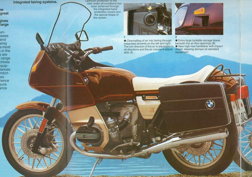 BMW R100RT Colour Schemes