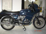 BMW Blue R100RS Motosport