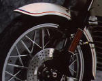 BMW R100RS Motorsport Mudguard photo