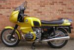 BMW R100RS gold photo