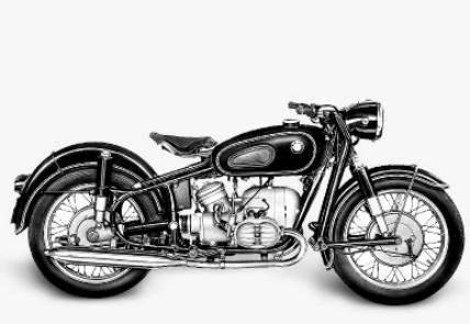 Dijual motor bmw r50 #3